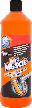 Mr. Muscle Kitchen & Bathroom Drain Gel - 1000ml