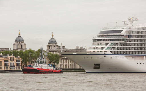 Viking-Star-in-London - Viking Star in London shortly after her launch in May 2015.