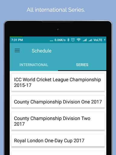 Live Cricket Score 2018 2.2 screenshots 8