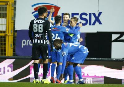 Genk speelde gelijk op het veld van Charleroi