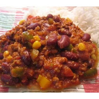 Ground Turkey Chili.