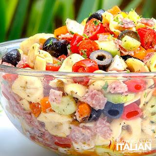 Tuscan Tortellini Pasta Salad Recipe
