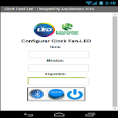 Clock Led - UPC Aguachica 2016