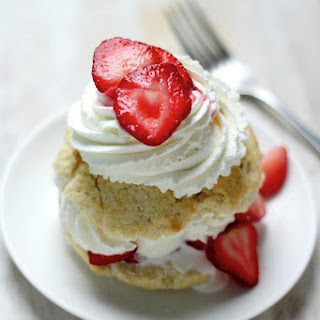 Quick and Easy Strawberry Shortcake for Two