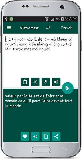 French Vietnamese Translate 1.1 screenshots 17