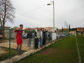 Photo: 29.03.2015. prva domaća pobjeda - NK Štinjan - NK Umag 1:0 - napeto iza ograde