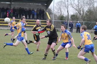 Photo: Mark Mc Closkey v Glencar/Manor, League 2013