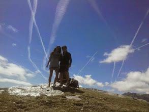 Photo: La Bruna i la Carina al cim de Quartiules (2.226m)