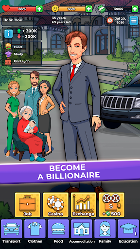 Hobo Life: Business Simulator & Money Clicker Game 1.7 screenshots 1