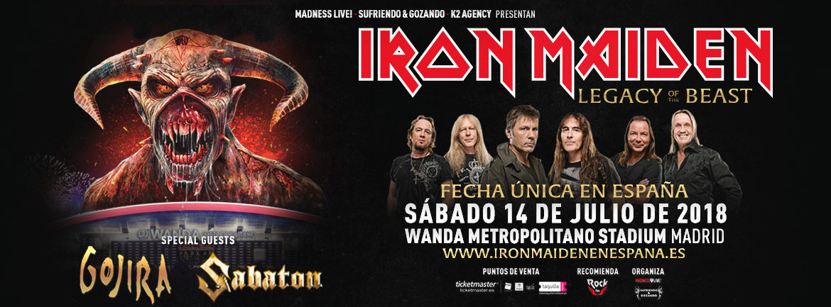 Iron Maiden Madrid