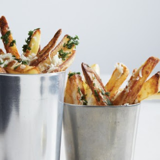 "Oven-Fried Truffle ""Chips""."