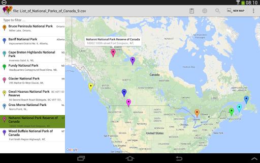 SalesMasterMap - Batch Geocode Android screenshot 10