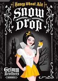 Logo of Grimm Brothers Snow Drop Honey Wheat Ale