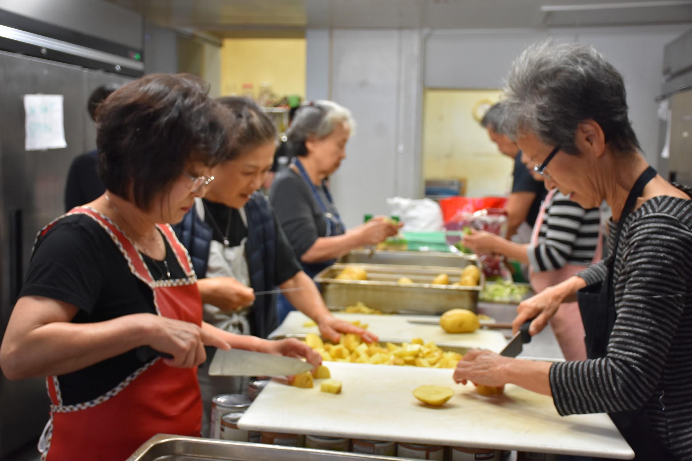 빈첸시오 저녁식사 봉사 2019