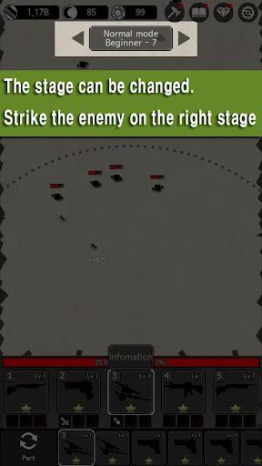 Idle Guns : Pixel Defense  captures d'u00e9cran 2