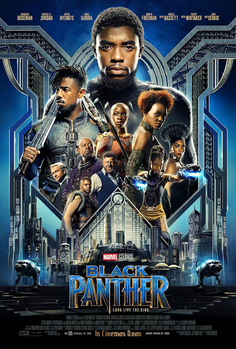 """Black Panther,"" released February 16, 2018, grossed some $1.3 billion."