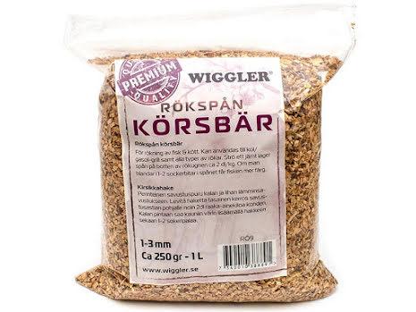 Wiggler Rökspån Körsbär