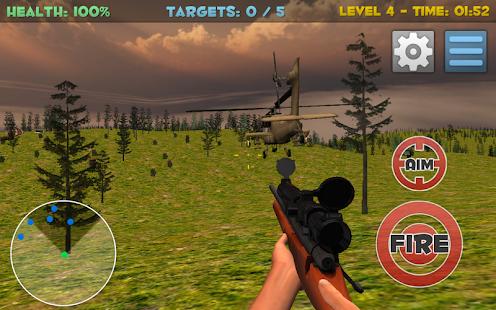 Sniper Shooting 3D para Android
