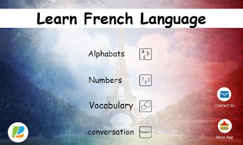Learn French Language screenshot 0