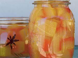 Watermelon Pickles Recipe