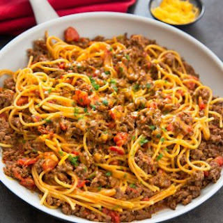 Spaghetti With Ground Beef Recipes