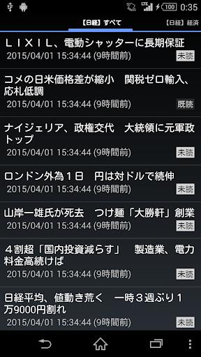日経新聞の記事一覧