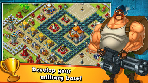 Jungle Heat: War of Clans screenshot 4