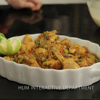 Green Chicken Karahi Recipes