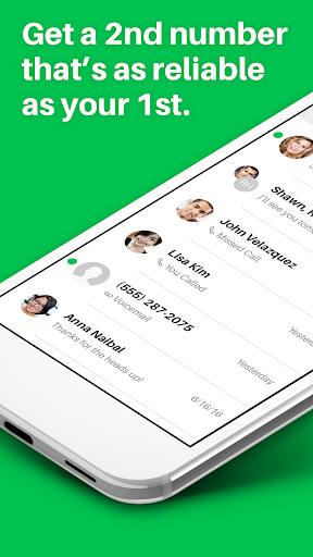 Sideline – Second Phone Number Screenshot