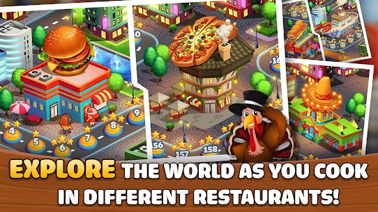 Kitchen Craze: Cooking Games for Free & Food Games 3