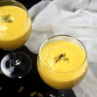 Vegan Mango Lassi.
