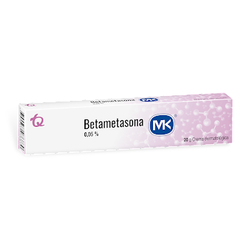 Betametasona MK 0.05%   Crema Tubo x20g.