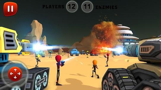 Creepy Aliens Battle Simulator 3D 8