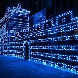 燈堡 by Gary Lu - City,  Street & Park  Night ( night )