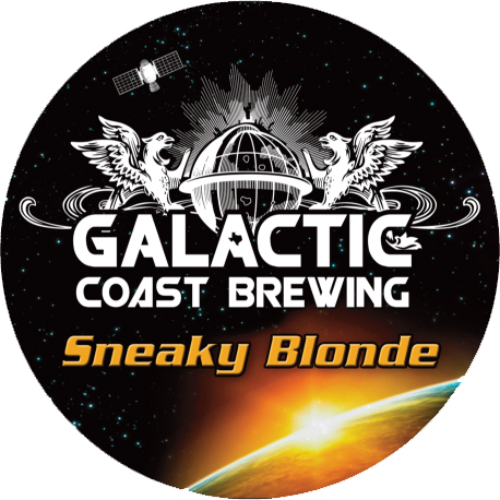 Logo of Galactic Coast Sneaky Blonde