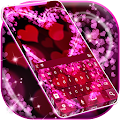Pink Love Keyboard Theme by AI Theme Gallery APK
