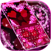 Keyboard Pink Love App