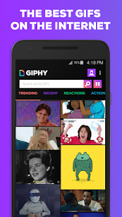 GIPHY - Animated GIFs Search Engine- screenshot thumbnail