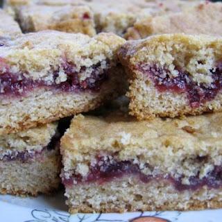 Jam or Marmalade Bars.
