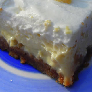 Ginger Cheesecake Squares.