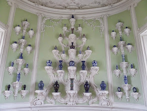Photo: This is the Porcelain Cabinet, used for the Duke's collection of fine porcelain.