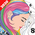 Paint Color: Coloring by Number for Adults icon
