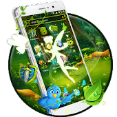 Green Fairy Butterfly-APUS Stylish Theme
