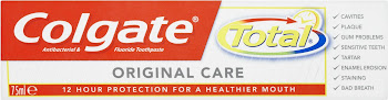 Colgate Total Toothpaste - Original Care, 75ml