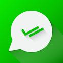 Hidden Unseen Chat, Hide Blue Ticks, No Read Sign icon