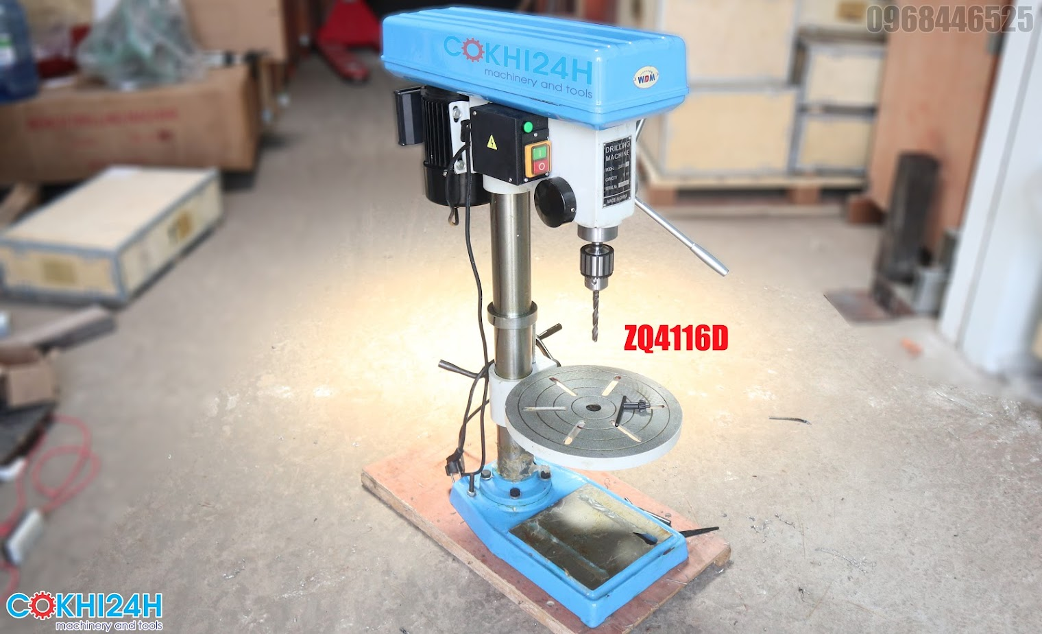 Máy khoan bàn ZQ4116D