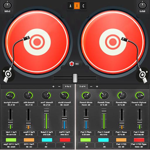 Virtual DJ Songs Mixer