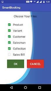 Smart Order Booking - Demo - náhled