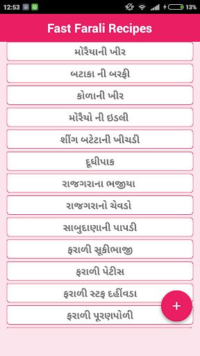 Fast Farali Recipes Gujarati