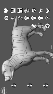 Labrador Pose Tool 3D screenshot 2
